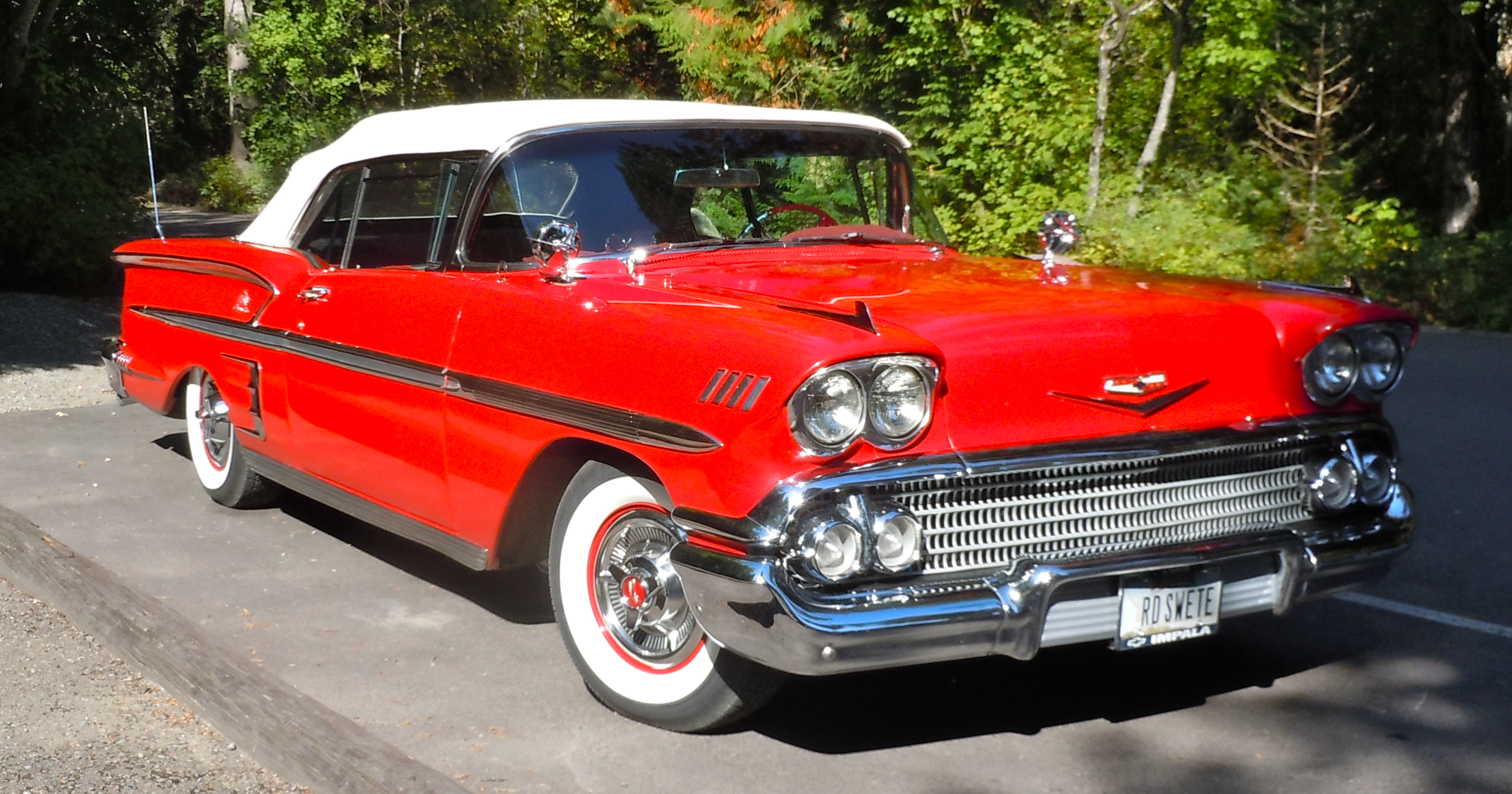 1958 Chevy Impala and an old Ford… | When I Ride...