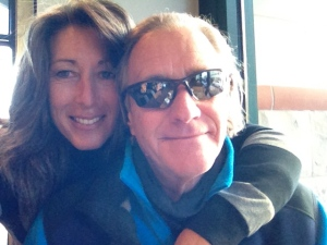 """The """"Hubs"""" and me at the coffee shop"""