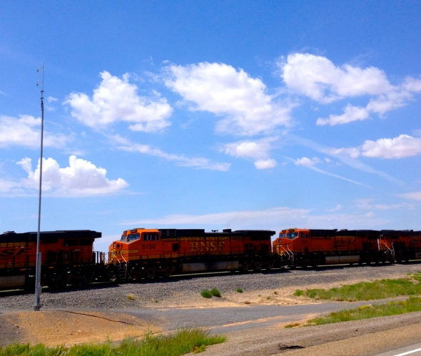 Santa Fe Railroad is a historic figure out here