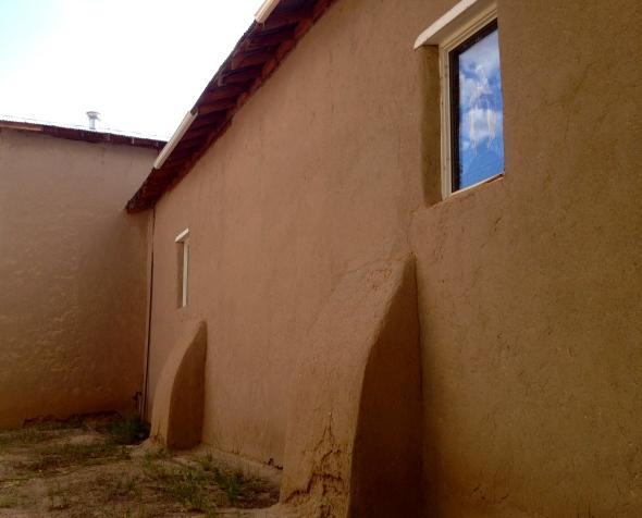 adobe church at Ojo Caliente